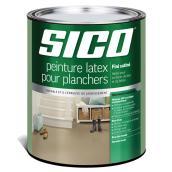 Base de peinture pour plancher, Sico, latex/acrylique, fini satiné, 946 ml, base 3