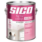 Sico - Interior Paint - Latex/Acrylic - 3.78 L - Flat White