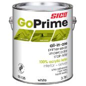 Sico GoPrime Primer-Sealer and Undercoater - 3.78 L - White