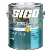 Exterior Solid Wood Stain - White Base - 3.7 L.