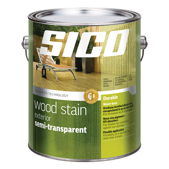 Sico Semi-Transparent Wood Tinting Base - 3.6 L