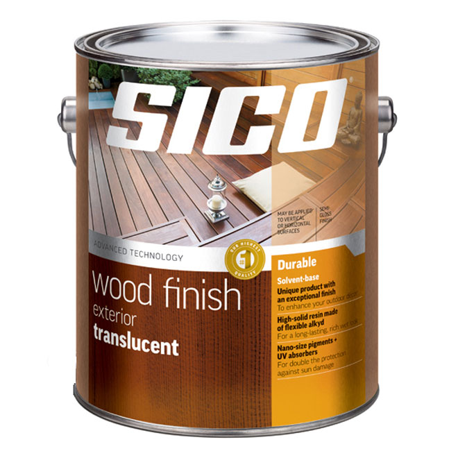 Paint - Exterior Wood Finish