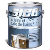 Peinture latex acrylique, cuisine et salle de bains