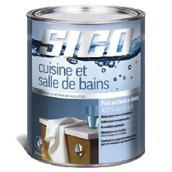 Peinture latex acrylique «Cuisine-SDB»