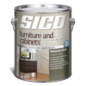 Sico Interior Paint - Furniture and Cabinets - 3.78 L - Melamine Finish - White