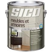 Base de peinture d'intérieur pour meubles/armoires, Sico, 3,78 l, base 2