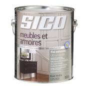 Base de peinture pour meubles et armoires, Sico, latex, 3,78 l, base 3