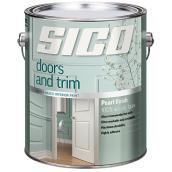 Sico - Paint Base For Doors and Trims - Latex - 3.78 L - Pure White
