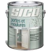 Sico Interior Paint for Doors and Trim - Latex - Base 2 - 3.78 L - Pearl