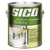 Peinture d'extérieur au latex Sico, 946 ml, fini semi-lustré, blanc pur