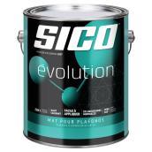 Peinture et apprêt Sico Evolution, mat pour plafonds, 3,78 l, blanc
