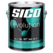 Sico Evolution Paint and Primer - Flat for Ceilings - 3.78 L - White