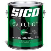 Base de peinture et apprêt Sico Evolution, latex, base 1, 3,78 l, mat