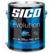 Sico Evolution Paint and Primer in One - 3.78 L - Eggshell - Pure White