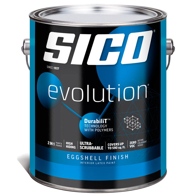Sico Paint Base and Primer - Base 2 - 3.78 L - Eggshell