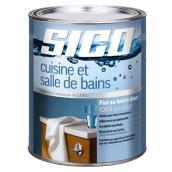 Peinture latex 100% acrylique pour cuisine et salle de bain