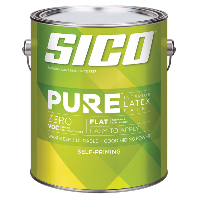 Sico Pure Self-Priming Paint Base - Medium Base - 3.78 L - Flat