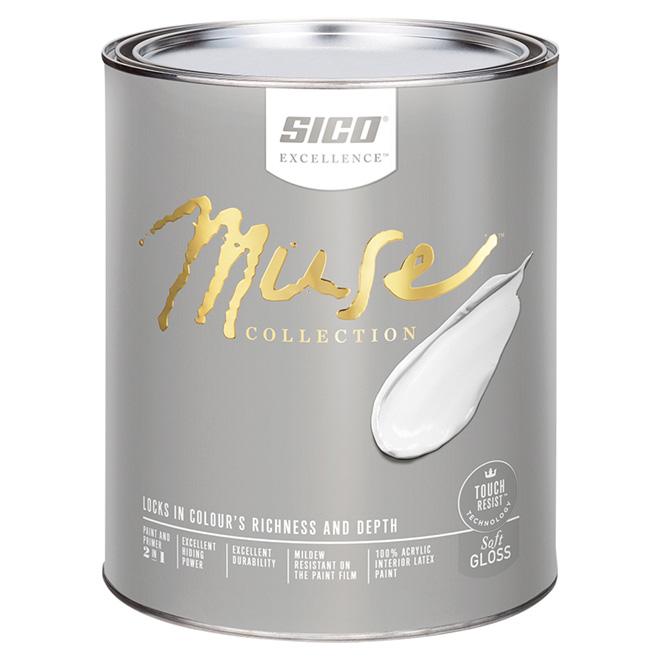 Sico Muse Paint Base and Primer - Interior - Base 5 - 946 ml - Soft Gloss