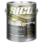 Resurfaceur/scellant pour bois et béton d'extérieur, 3,37 L