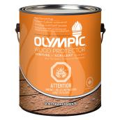 Teinture de bois Olympic semi-transparente, 3,78 l, cèdre