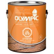 Teinture de bois Olympic semi-transparente, 3,78 l, sequoia