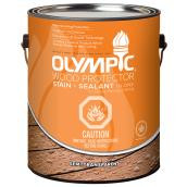 Olympic Semi-Transparent Wood Stain - 3.78 L - Redwood