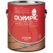 Teinture de bois Olympic opaque 100% acrylique, 3,78 l, base 1