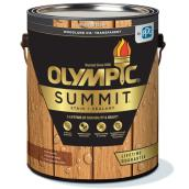 Olympic Summit Exterior Wood Stain and Sealant - Semi-Transparent - Cedar - 3.78 L