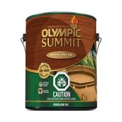 Summit Woodland Oil - 3.78L - Kona Brown