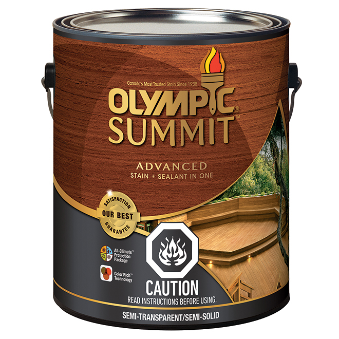 Summit Advanced Stain And Sealant - 3.54 L - Tan Base