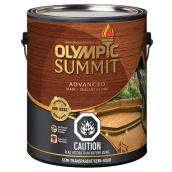 Summit Advanced Stain And Sealant   3.78 L   Tan Base. OLYMPIC