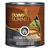 Teinture et scellant pour bois Summit, 236 ml, base brun