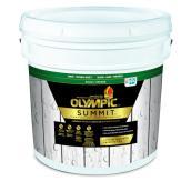 Teinture et scellant d'extérieur pour bois Olympic, opaque, base 1, 11,36 l
