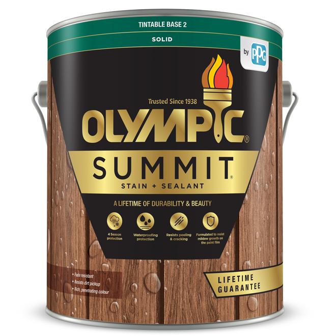 Summit Advanced Stain And Sealant - 3.78L - Base 2