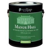 Exterior Latex Paint/Primer -Super White- Eggshell - 946 ml