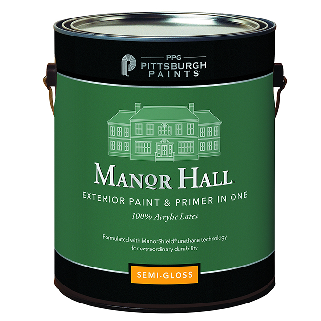 Exterior Latex Paint/Primer -Deep Base - Semi-Gloss - 3.78 L