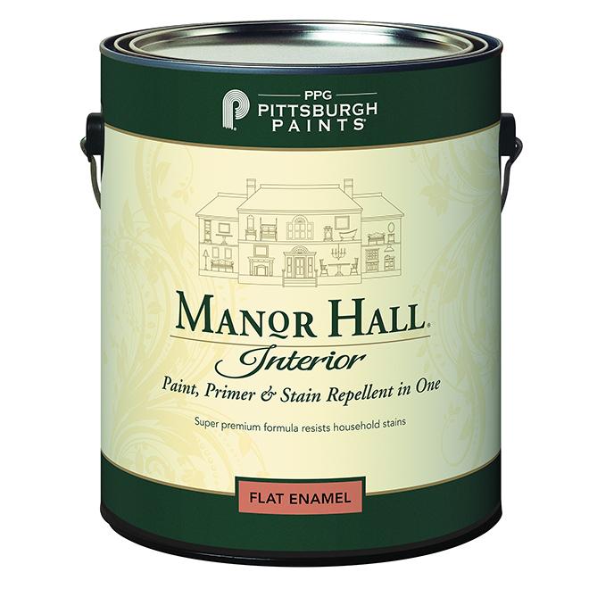 Paint, Primer & Stain Repellent- Midtone Base- Flat - 3.78 L