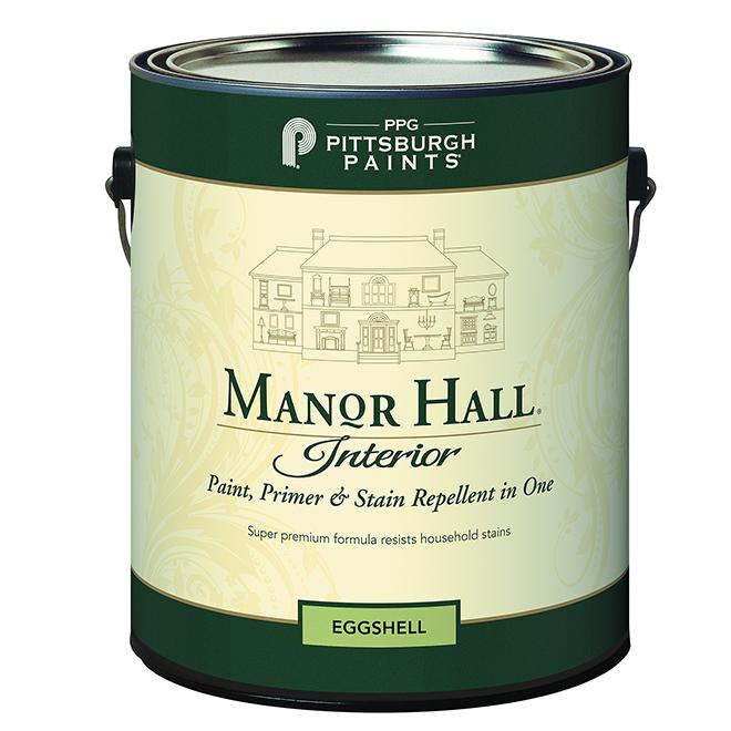 Paint, Primer & Stain Repellent-Pastel Base -Eggshell- 3.78L
