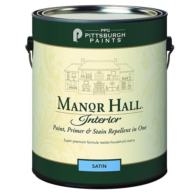 Paint, Primer & Stain Repellent- Bright Base-Satin - 3.78L