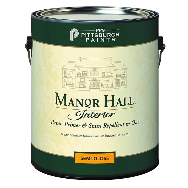 Paint/Primer/Stain Repellent- Bright Base -Semi-Gloss -946ml