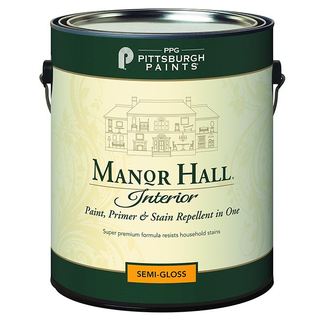 Paint/Primer - Pastel Base - Semi-Gloss - 3.78 L