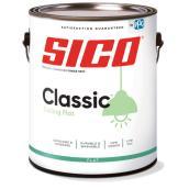 SICO Classic Interior Paint for Ceilings - Latex - Matte Finish - 3.78-L - White
