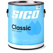SICO Classic Interior Paint and Primer - Latex - Eggshell Finish - 3.78-L - White