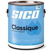 Peinture et apprêt d'intérieur SICO Classique en latex, fini coquille d'oeuf, 3,78 l, base médium