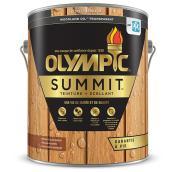 Teinture + scellant Olympic Summit Woodland Oil, transparent, cèdre de montagne, 3,78 L