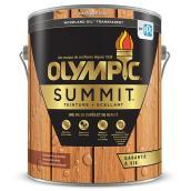 Teinture + scellant Olympic Summit Woodland Oil, transparent, marron de Kona, 3,78 L