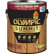 Teinture + scellant Olympic Summit, semi-transparent, cèdre de l'atlas, 3,78 L