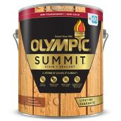 Olympic Summit Semi-Transparent Exterior Stain and Sealant - Cedar - 3.78-L