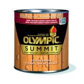 Teinture et scellant semi-transparent Olympic Summit pour l'extérieur à fini cèdre, 236 ml
