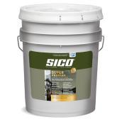 Peinture et apprêt d'extérieur SICO Super Premium 100 % acrylique, fini mat, 18,9 l, base 1